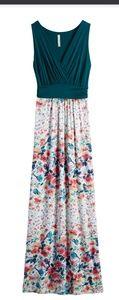 Gilli Floral Maxi Dress Sz Med